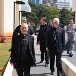 Visita do Cardeal Kurt Koch, juntamente com Dom Odilo Pedro Scherer à Catedral Ortodoxa