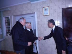 Visita a Dom Paulo Evaristo Arns
